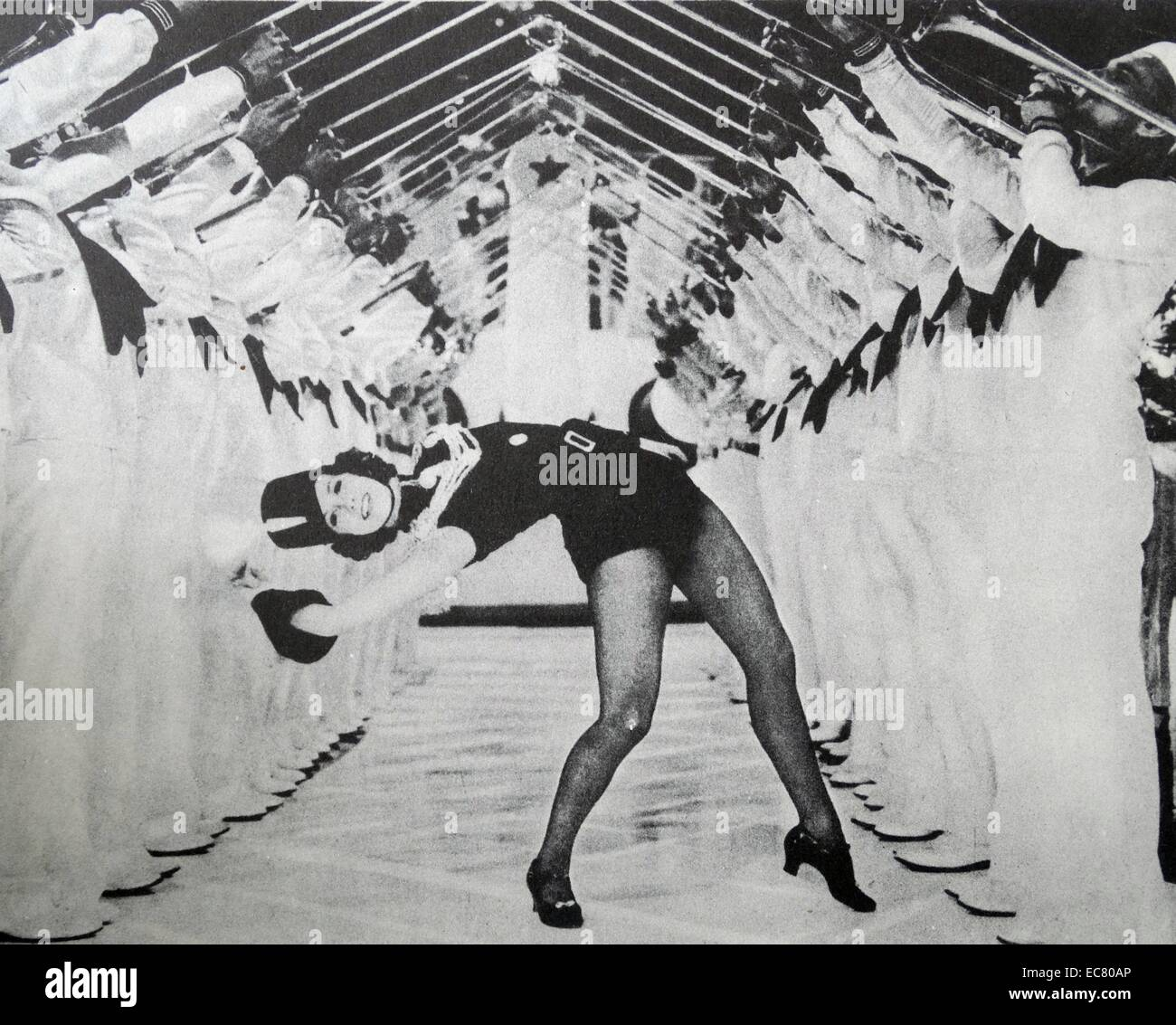 'Born to Dance', 1936.  Eleanor Powell in Cole Porter's brilliant musical.  Miss Powell came from Broadway - Stock Image