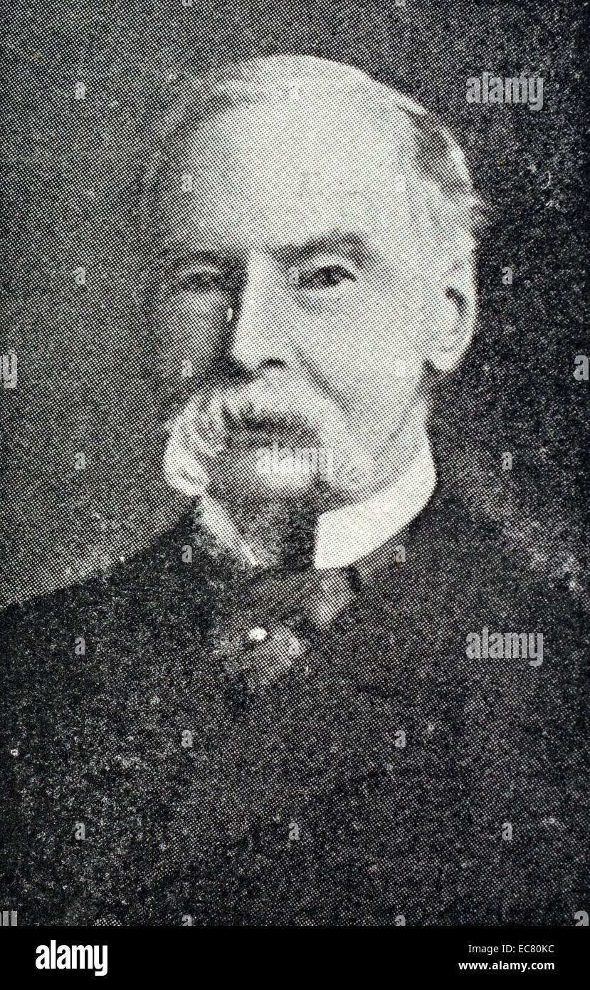 Photograph of Sir John Tenniel - Stock Image