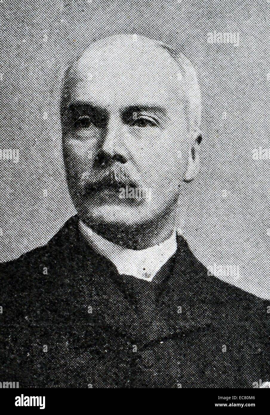 Photograph of Sir G. S. Clarke - Stock Image