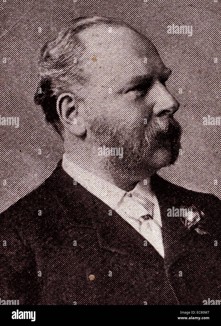 Photograph of Sir William Mather - Stock Image