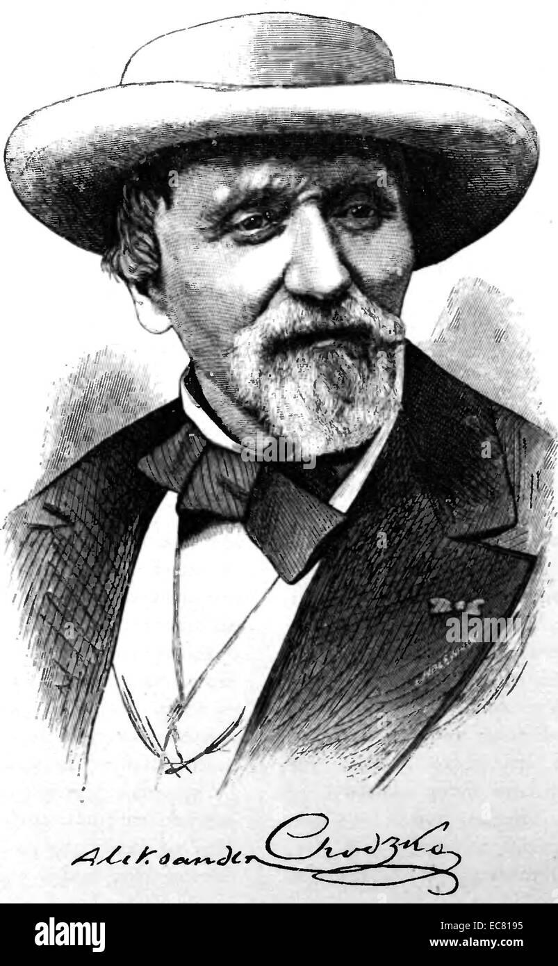 Aleksander Borejko Chod?ko - Stock Image