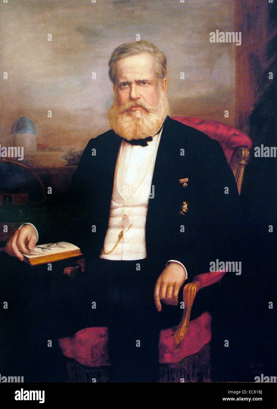 Pedro II of Brazil - Stock Image