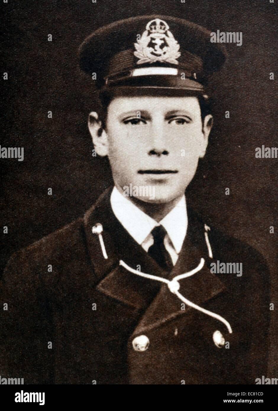 Prince Albert (later King George VI) - Stock Image