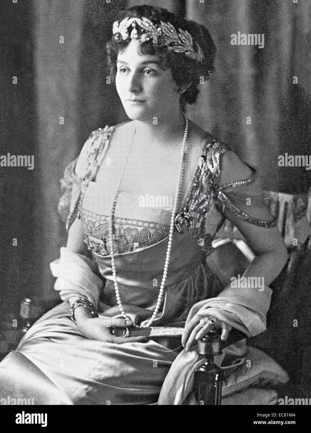 Photograph of Princess Marie Bonaparte - Stock Image
