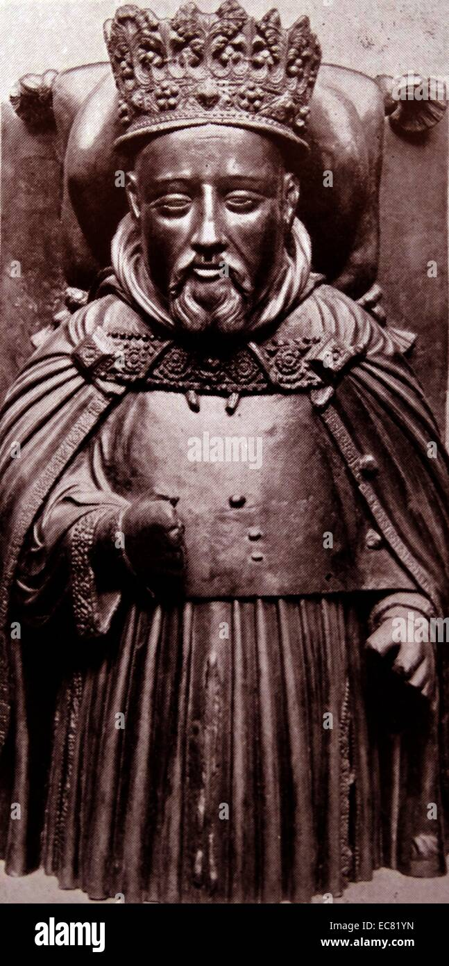 Henry IV (15 April 1367 – 20 March 1413. King of England - Stock Image