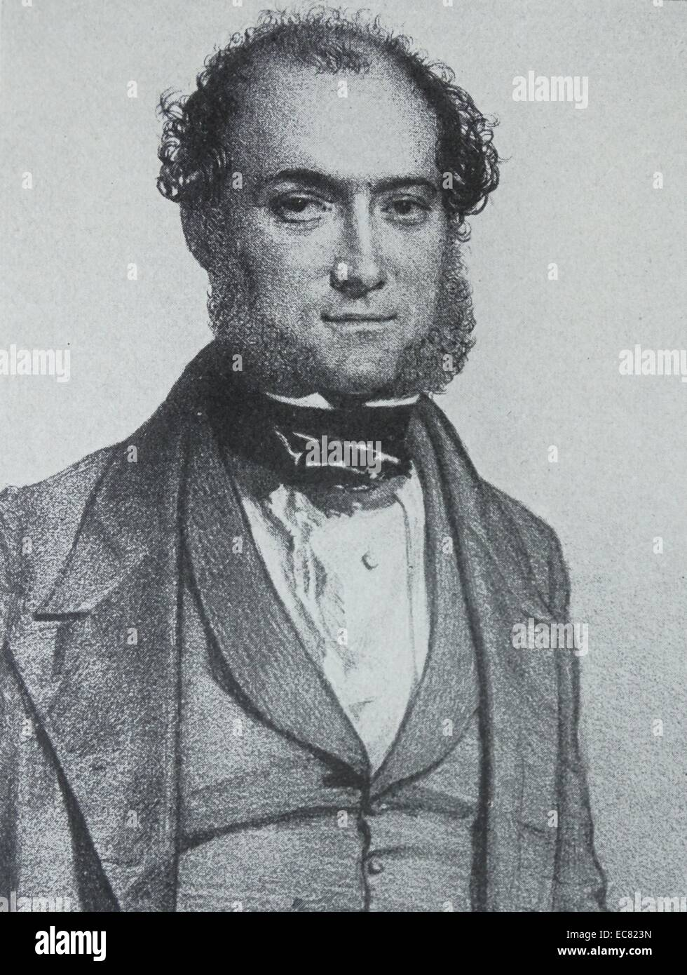 Sir William Fergusson (20 March 1808 – 10 February 1877 - Stock Image