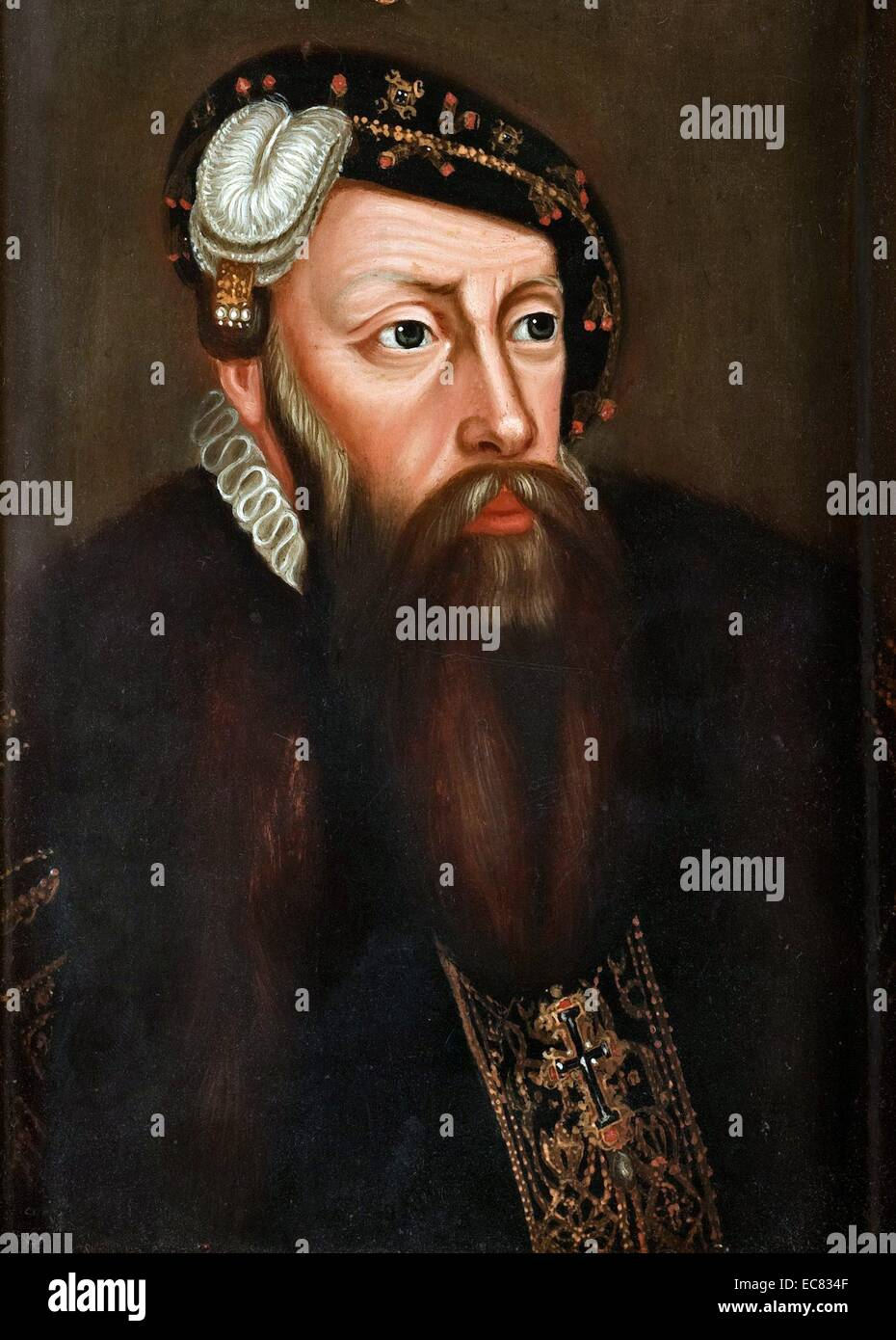 Gustav Vasa; King of Sweden from 1523 until his death, - Stock Image