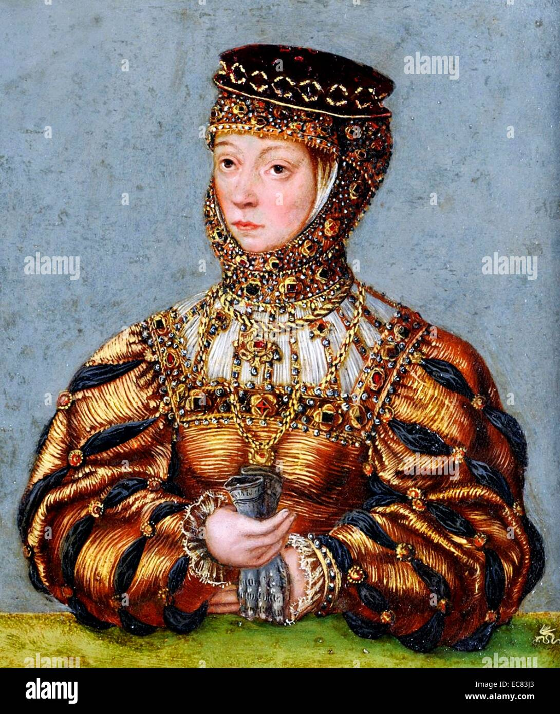 Barbara Radziwi?l; Queen of Poland and Grand Duchess of Lithuania - Stock Image