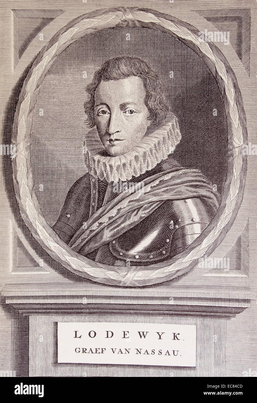 Wilhelm Ludwig von Nassau-Saarbrucken (1590 - 1640) Count of Saarbrucken. - Stock Image