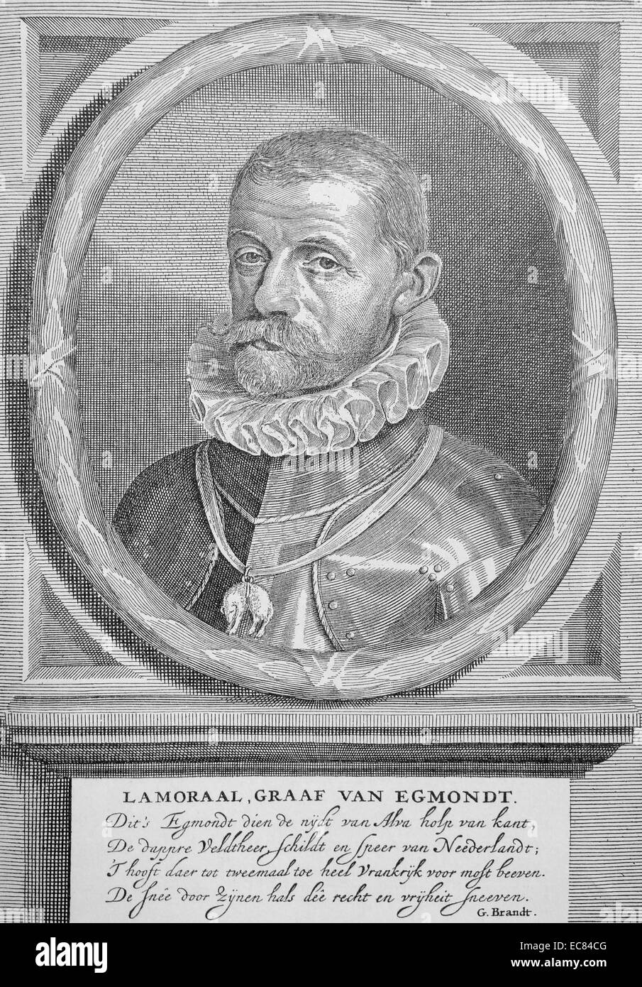Lamoral; Count of Egmont, - Stock Image
