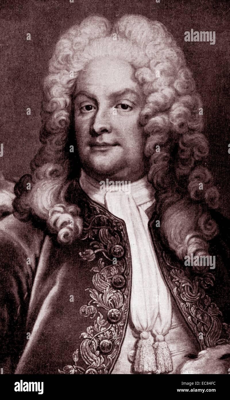 Portrait of Magnus Gabriel De la Gardie - Stock Image