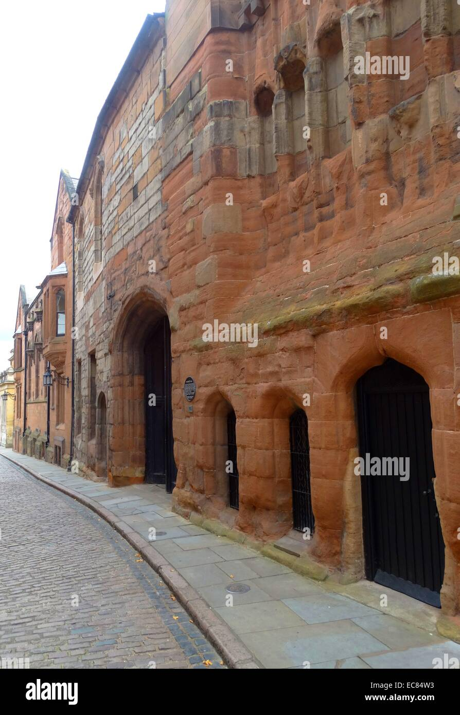 St. Mary's Hall is a guildhall built in Coventry, Warwickshire, - Stock Image