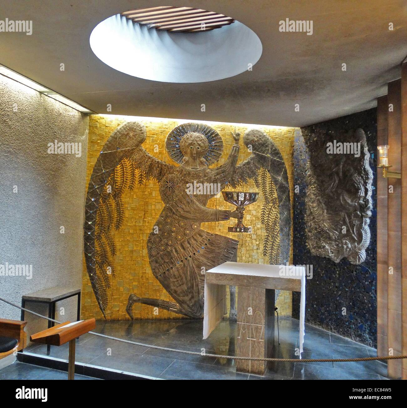 Chapel Of Christ In Gethsemane, Coventry Cathedral, - Stock Image