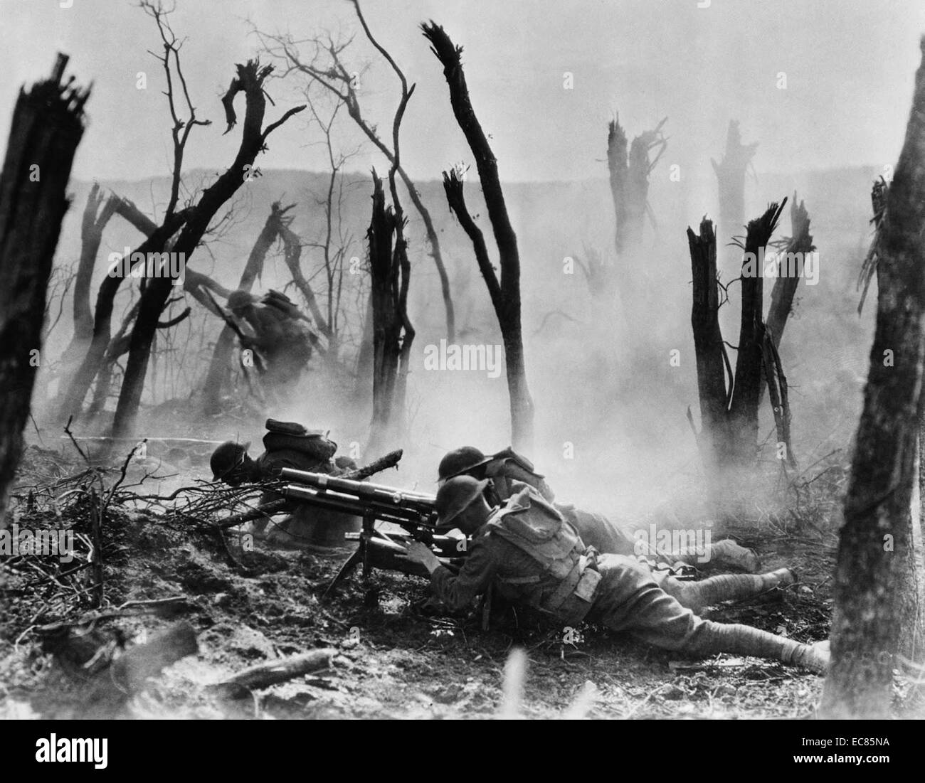 Soldiers of the 23rd Infantry on the Western Front 1915. - Stock Image