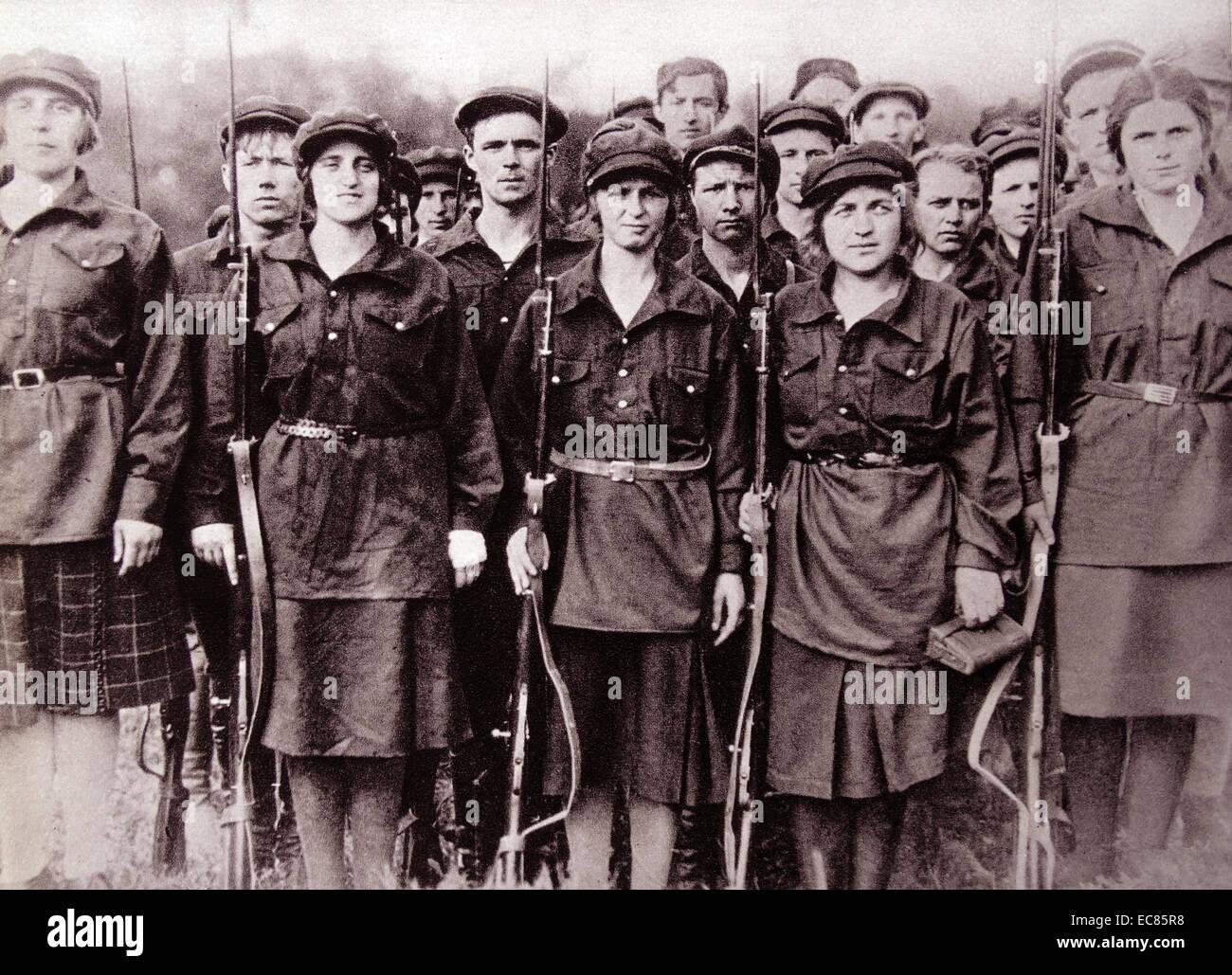 Military women russian