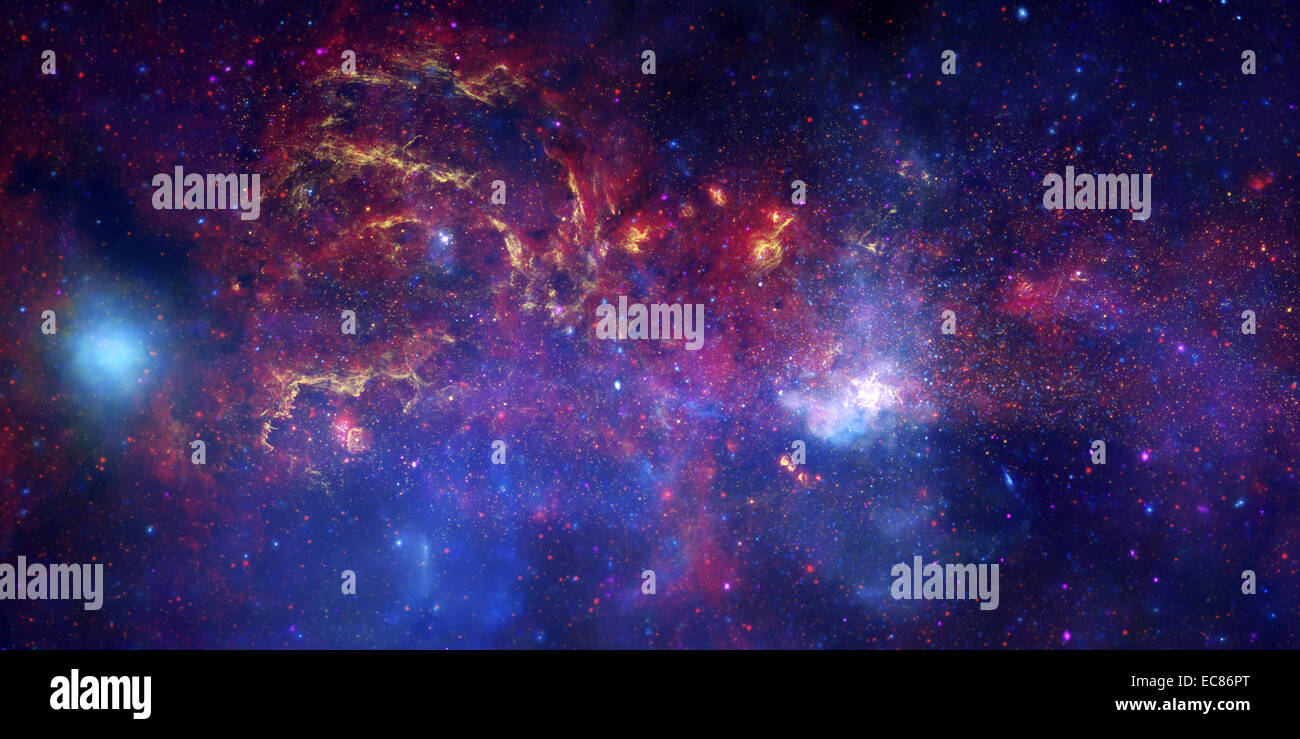 Centre of the Milky Way Galaxy IV - Stock Image