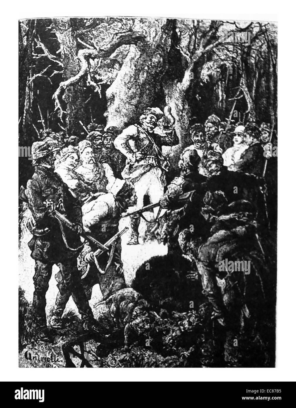 Illustration by Adam Bernard Mickiewicz - Stock Image