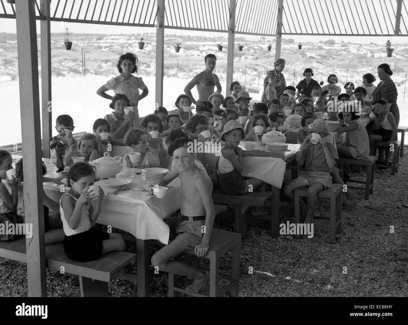 Photograph of the Women's International Zionist Organisation - Stock Image