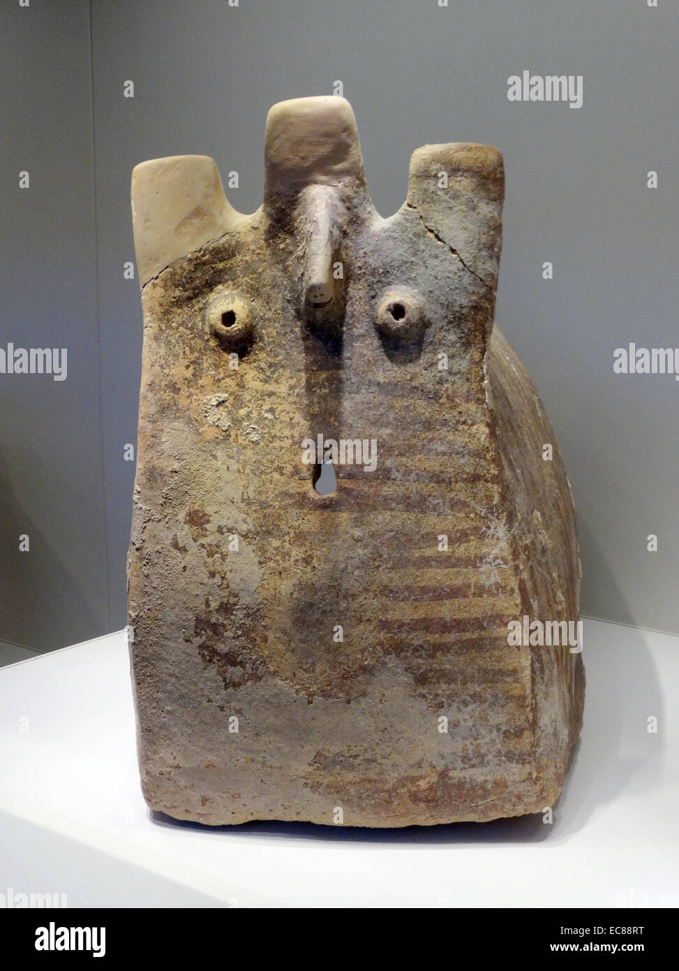 Item from a selection of burial cave items - Stock Image