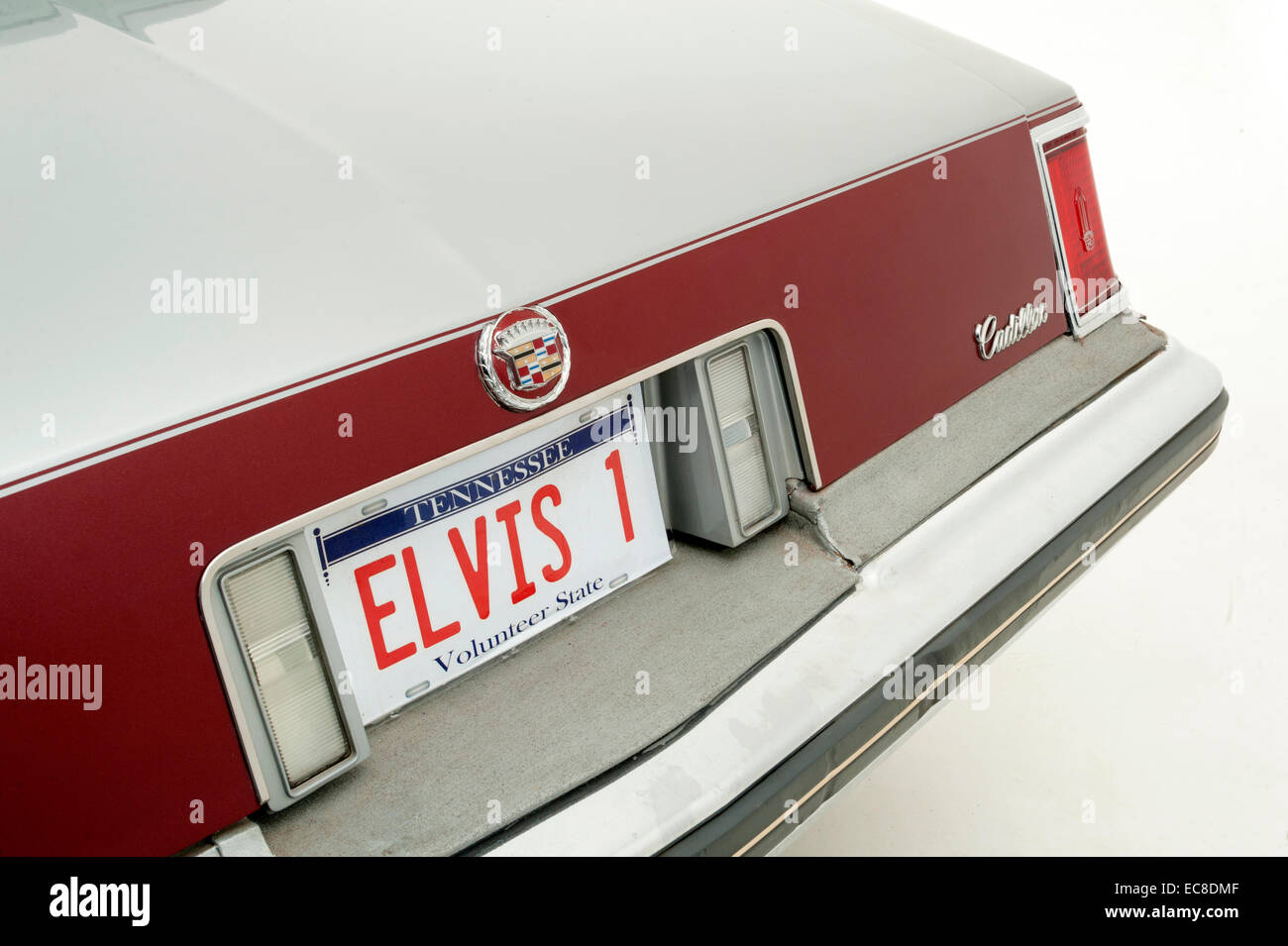1976 Cadillac Seville owned by Elvis Presley - Stock Image