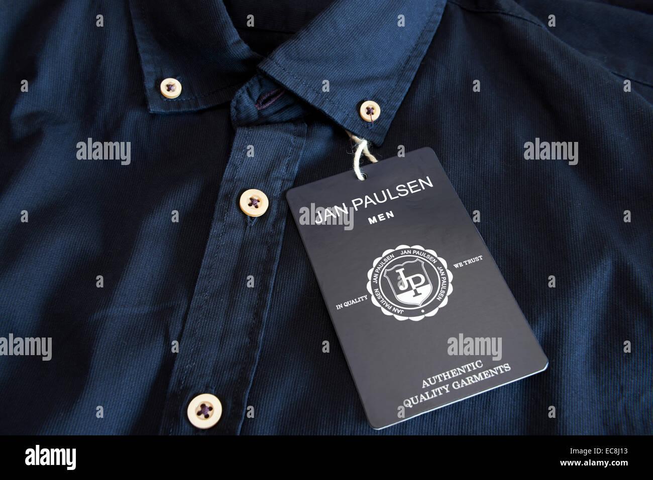 Jan Paulsen mens shirt - Stock Image