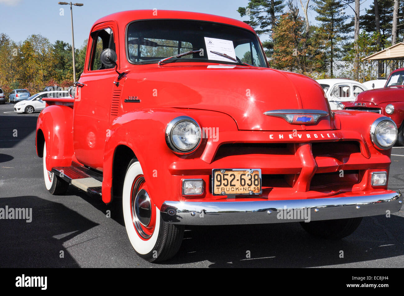 Chevrolet Pickup Truck Stock Photos 1954 Chevy C10 Pick Up A Image