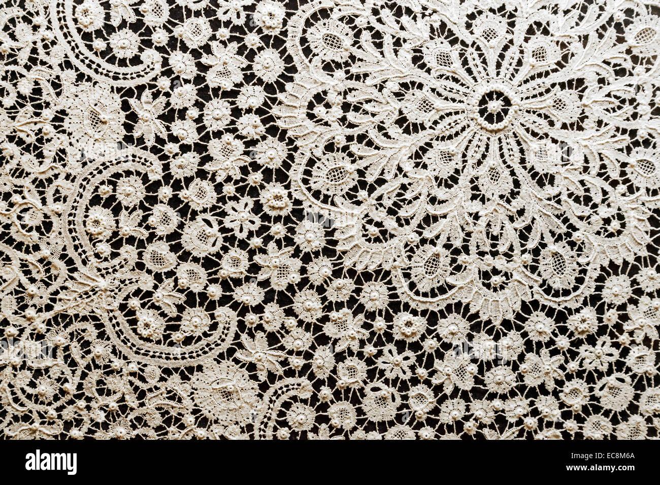 close up of belgian bruges lace bruges belgium europe stock photo 76408818 alamy. Black Bedroom Furniture Sets. Home Design Ideas