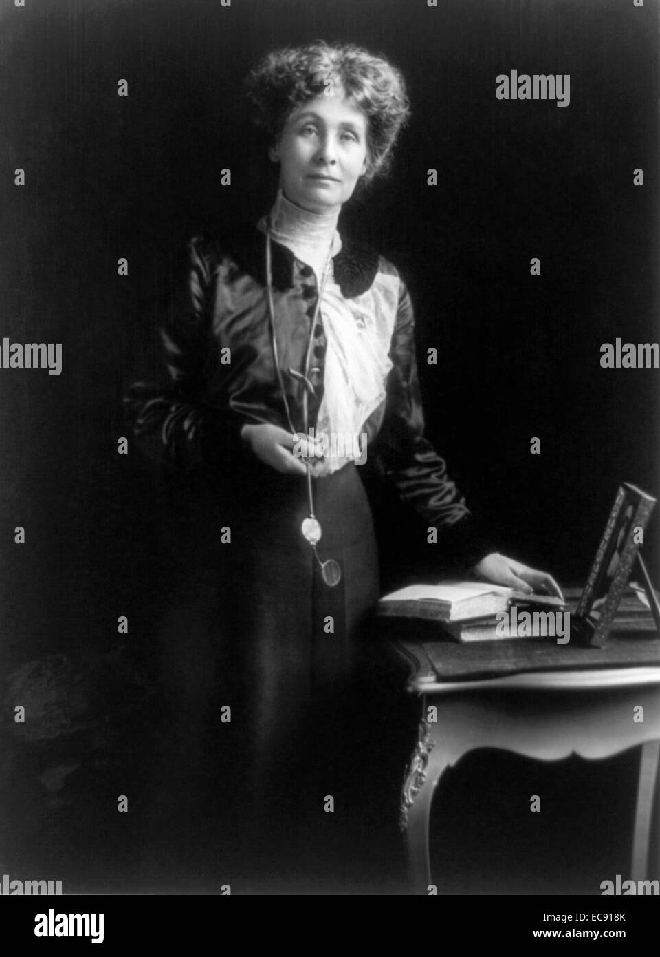 Emmeline Pankhurst was the most prominent of Britain's suffragettes. 1913 - Stock Image