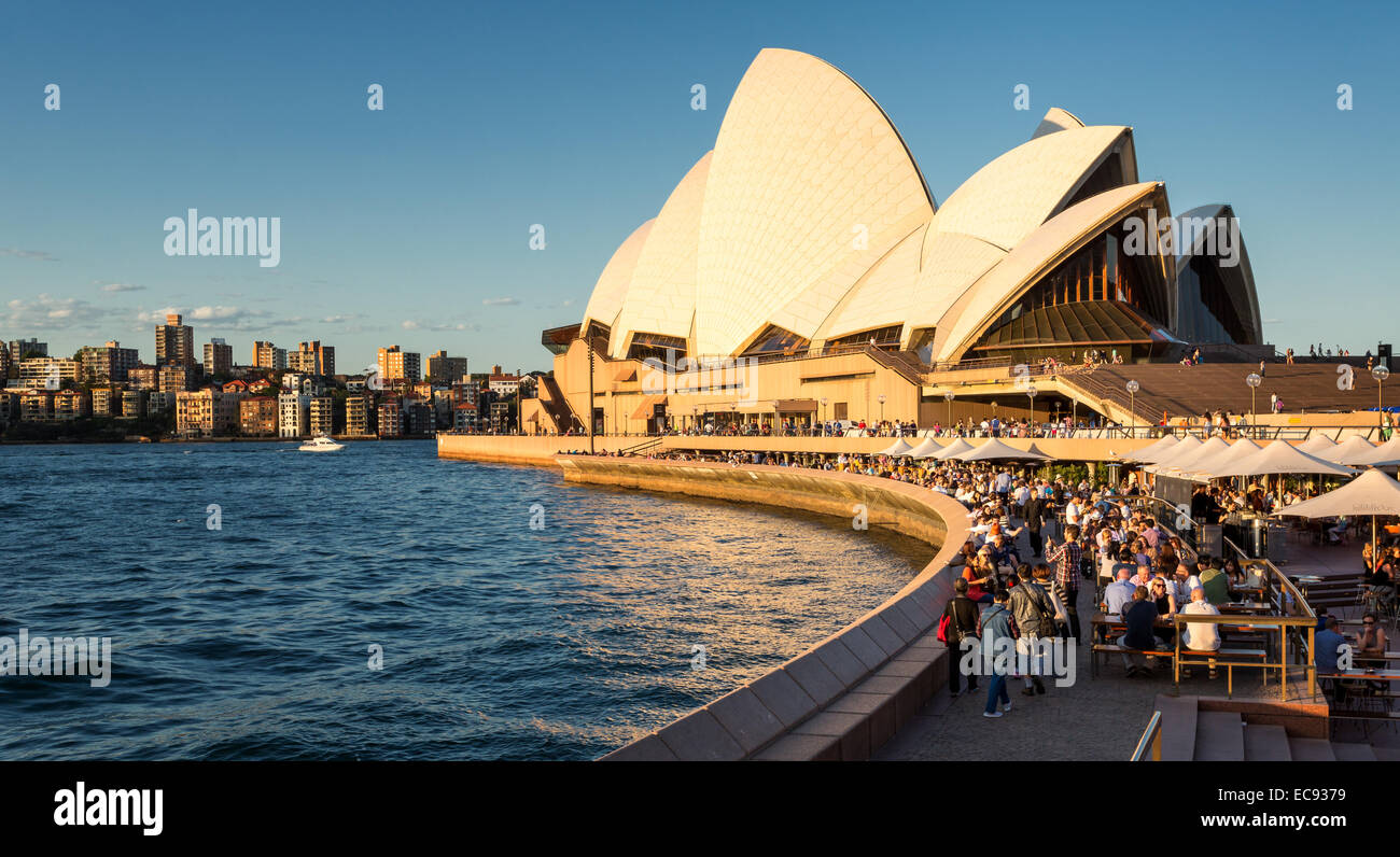 Sydney Opera House, Sydney, New South Wales, Australia - Stock Image