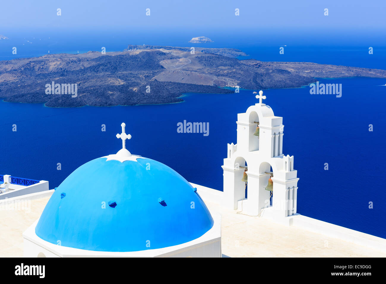 Firostefani. Santorini, Greece - Stock Image