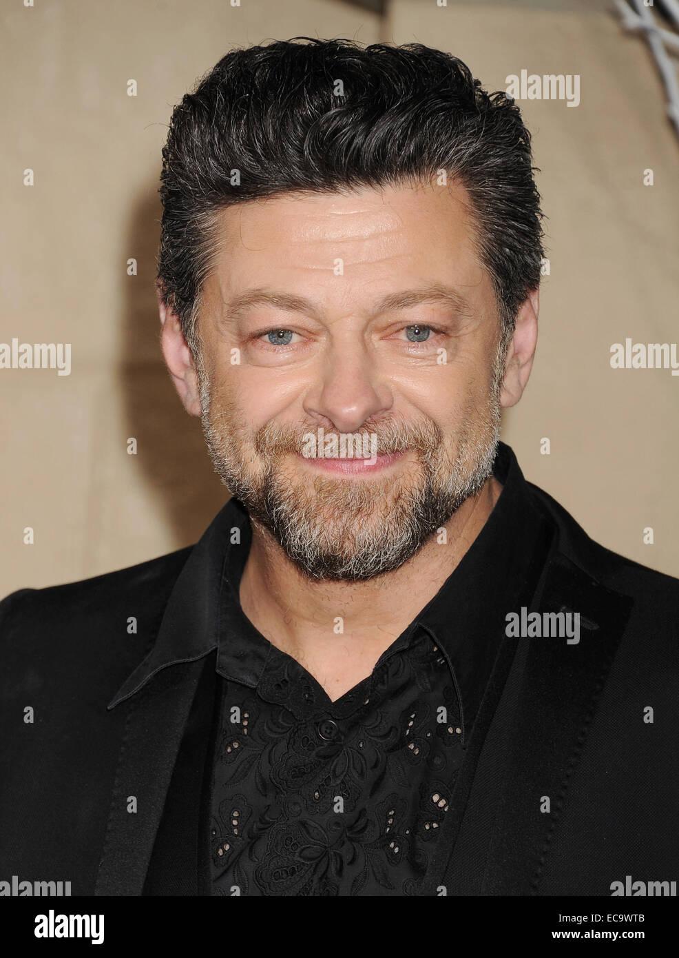 ANDY SERKIS English film actor in December 2014. Photo Jeffrey Mayer - Stock Image
