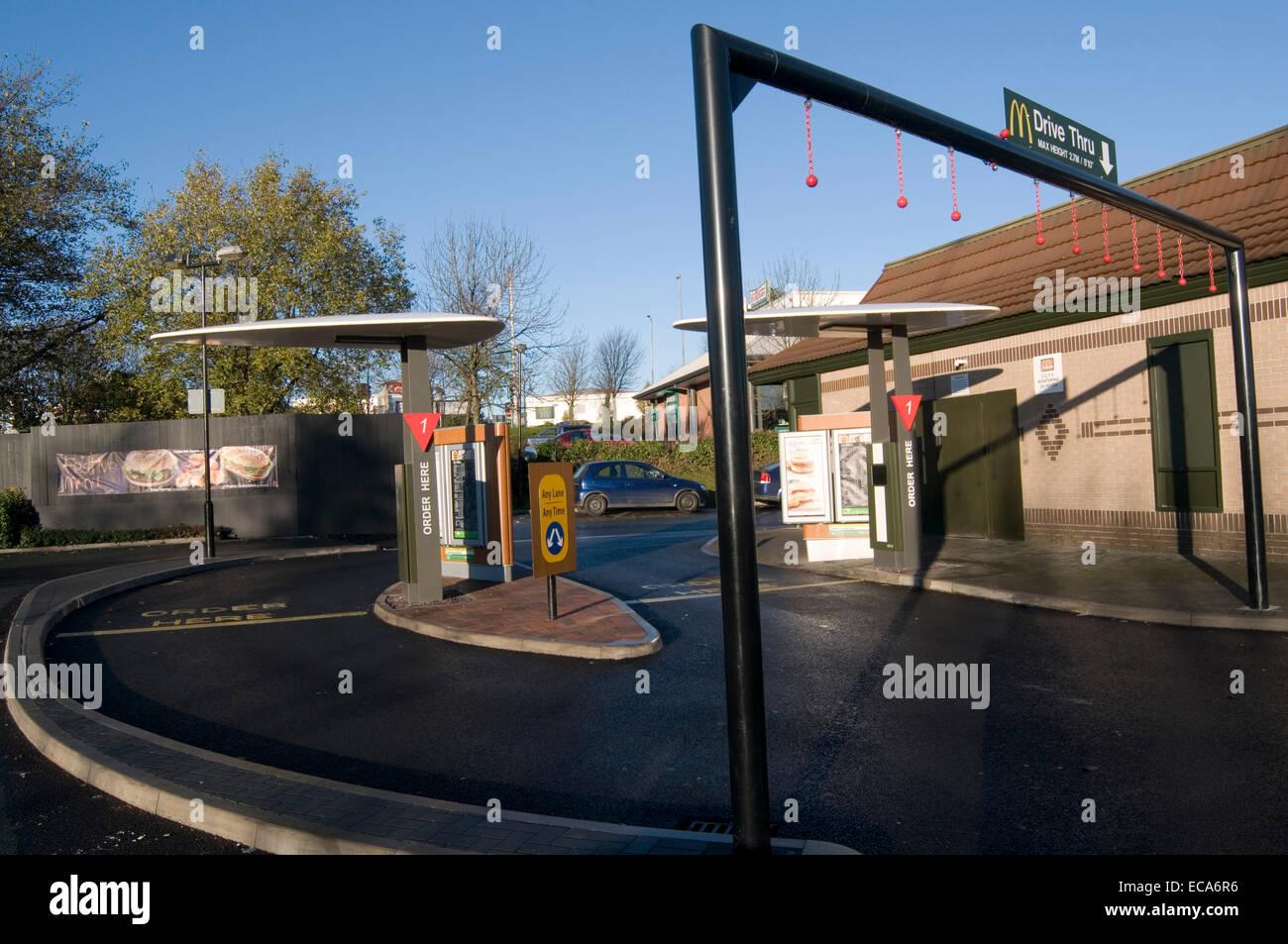Mcdonalds Car Park