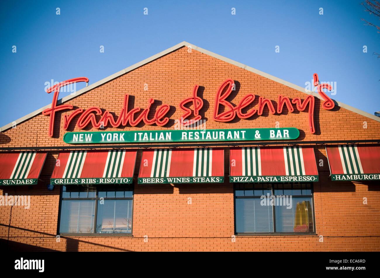 Frankie And Bennys Bennys Bennies Restaurant Restaurants Bar