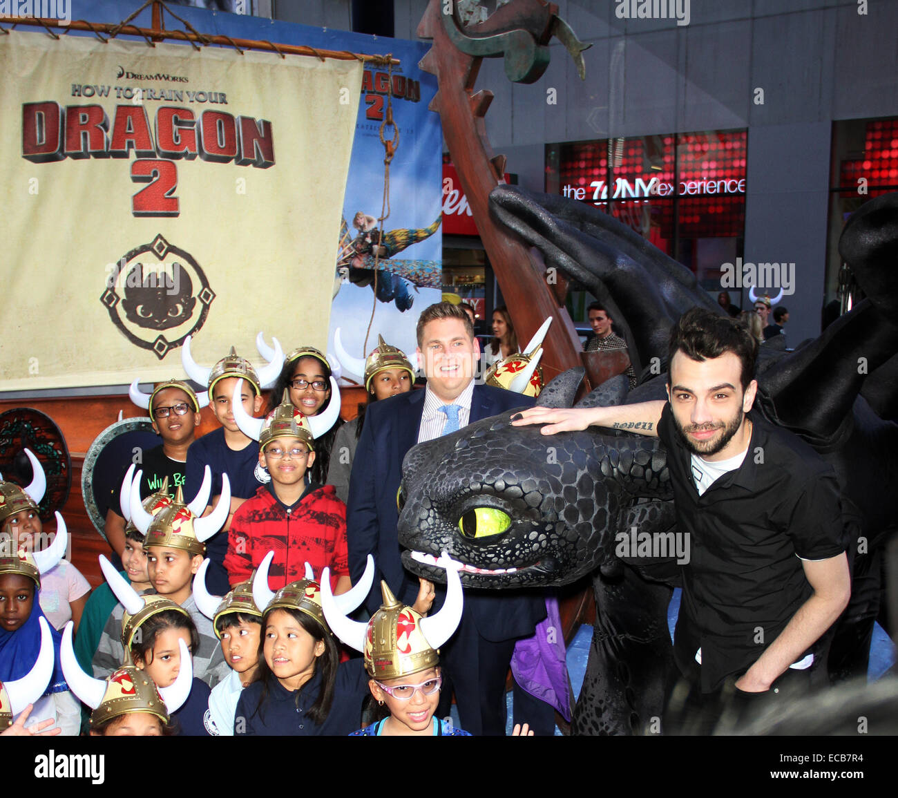 Jonah hill and jay baruchel at dreamworks how to train your dragon 2 jonah hill and jay baruchel at dreamworks how to train your dragon 2 experience at timesquare in new york featuring jonah hill and jay baruchel where ny ccuart Gallery