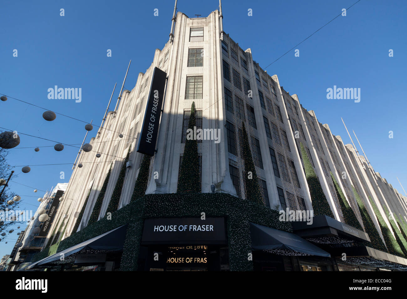 House of Fraser department store on Oxford Street - Stock Image