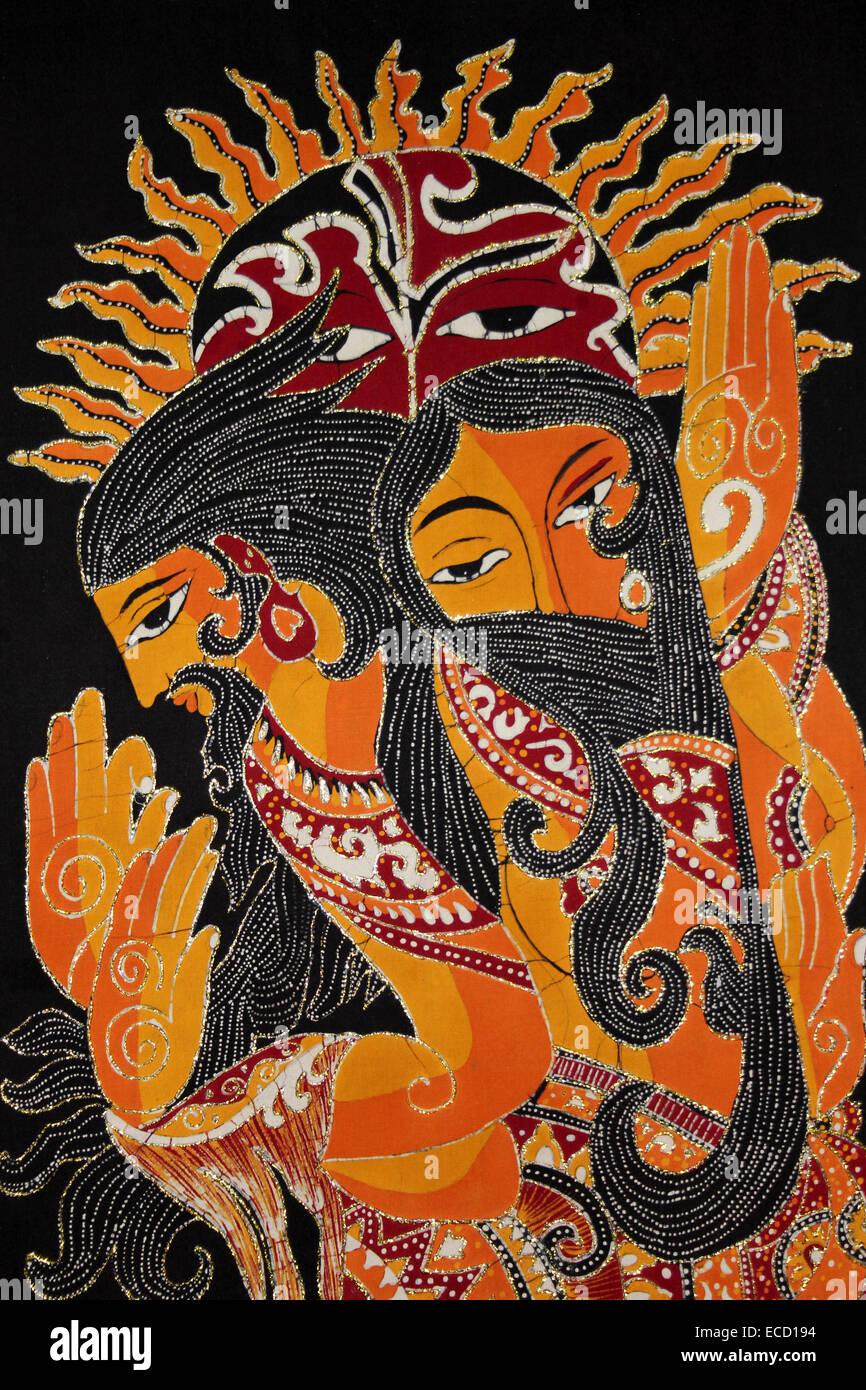 A Modern Style Sri Lankan Batik Stock Photo 76503760 Alamy