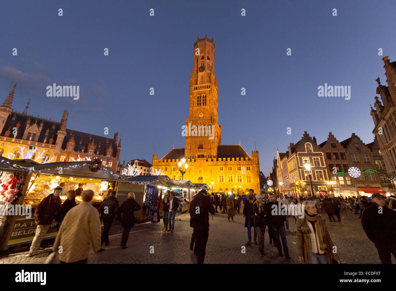Bruges Christmas Market.Bruges Christmas Market Stock Photos Bruges Christmas