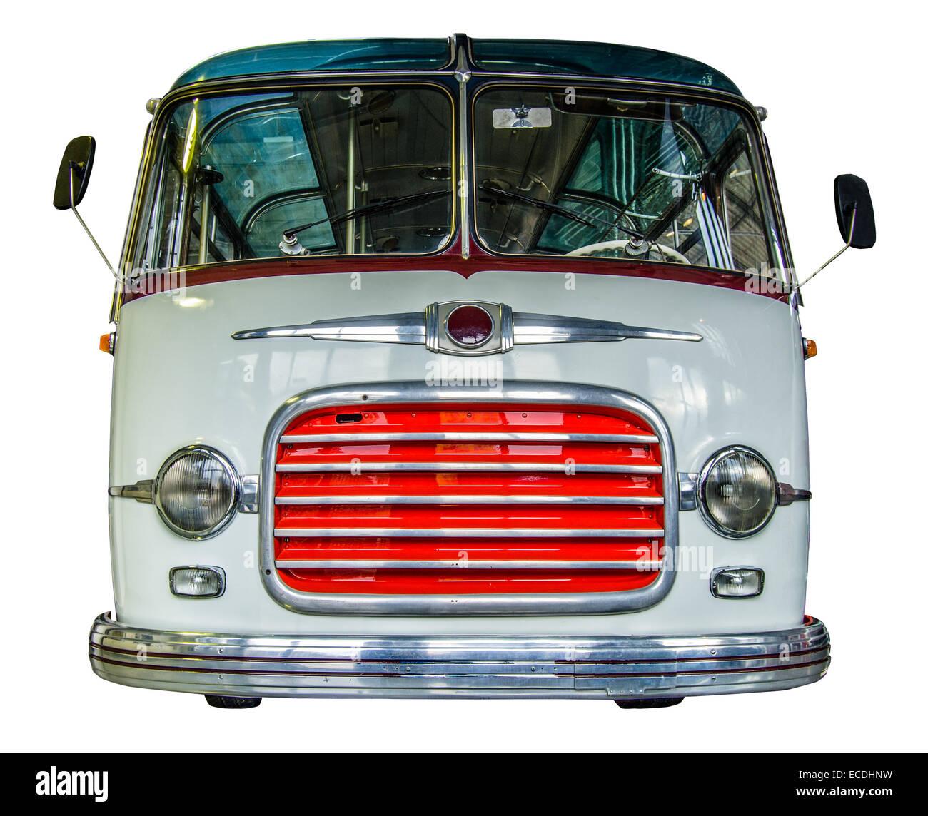 Vintage bus - Stock Image