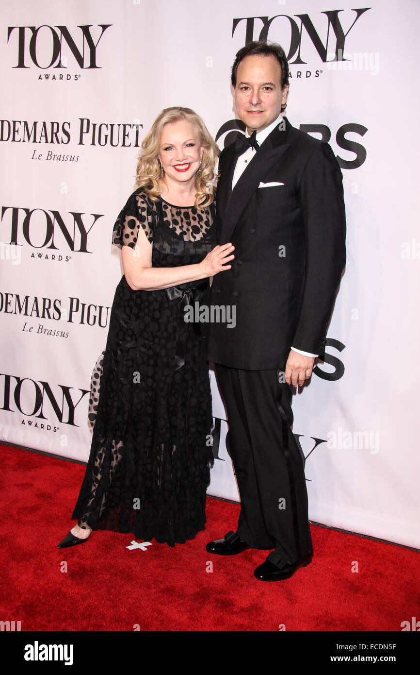 The 68th Annual Tony Awards held at Radio City Music Hall - Arrivals.  Featuring: Susan Stroman,Guest Where: New - Stock Image