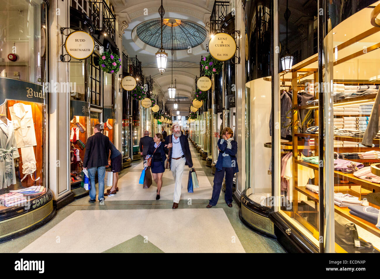 Piccadilly Arcade, Piccadilly, London, England - Stock Image
