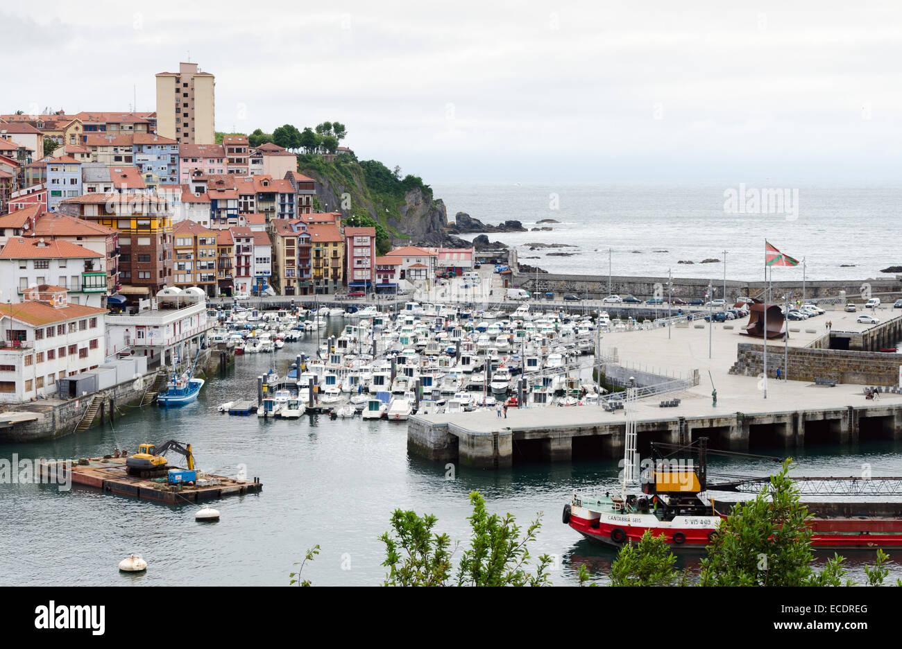 bermeo spain july 3 the modern port of bermeo one of the most rh alamy com