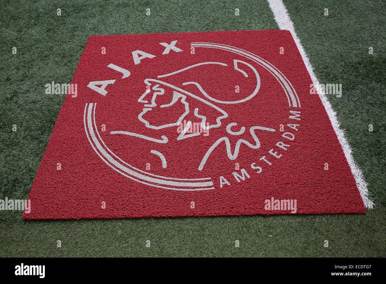Amsterdam Ajax logo - Stock Image