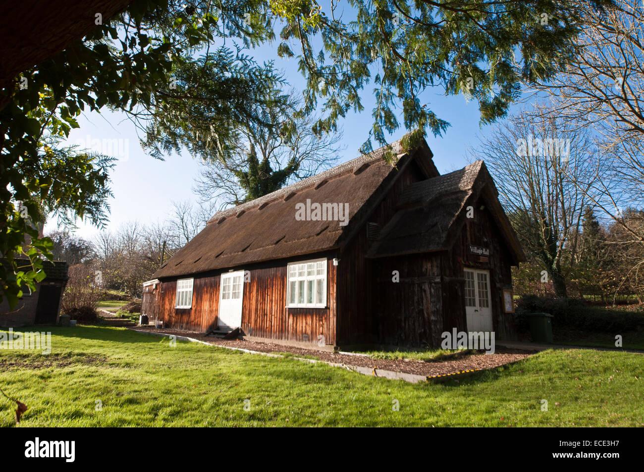 Ranworth old village hall - Stock Image
