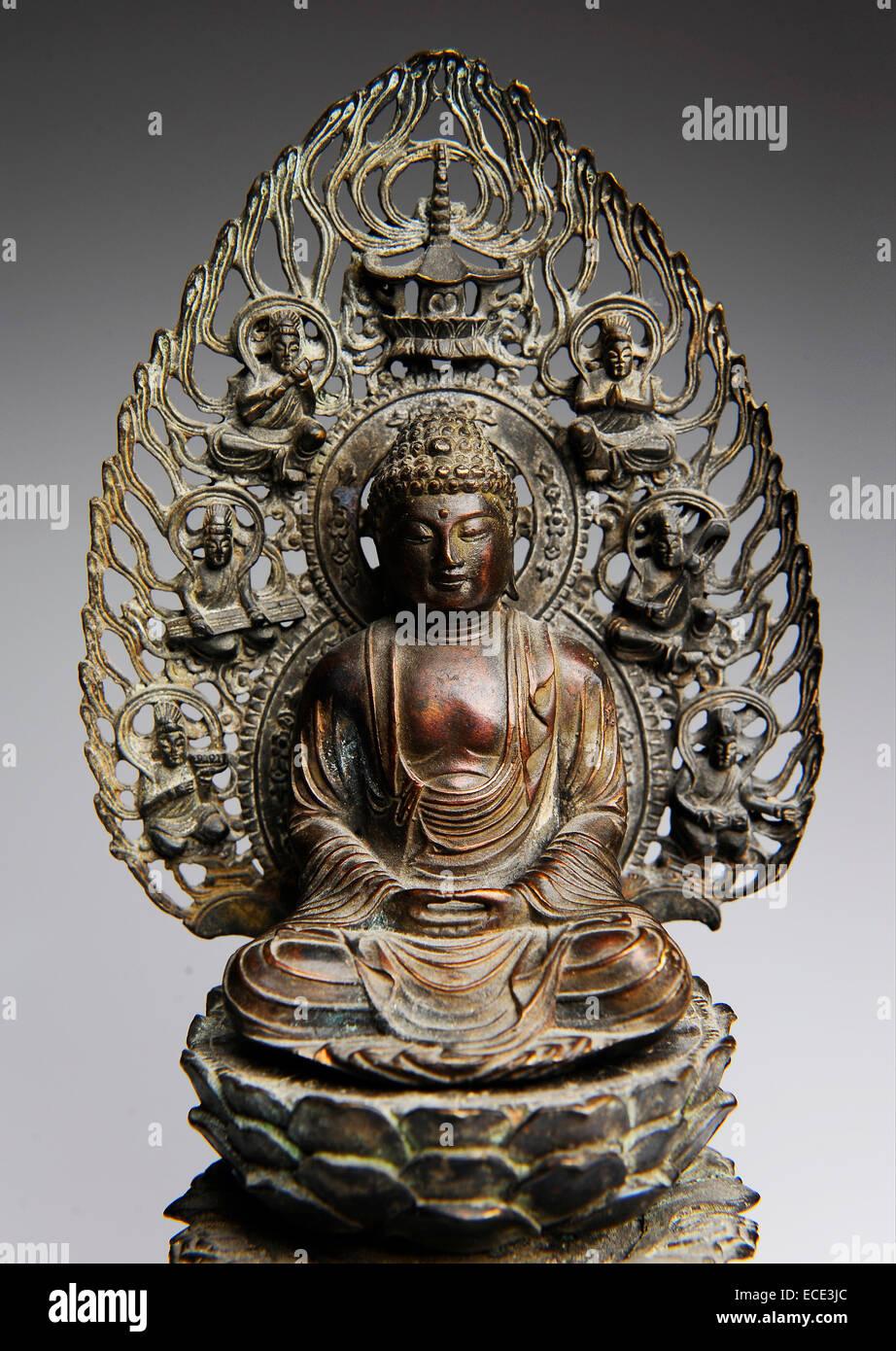 Bronze Buddha old