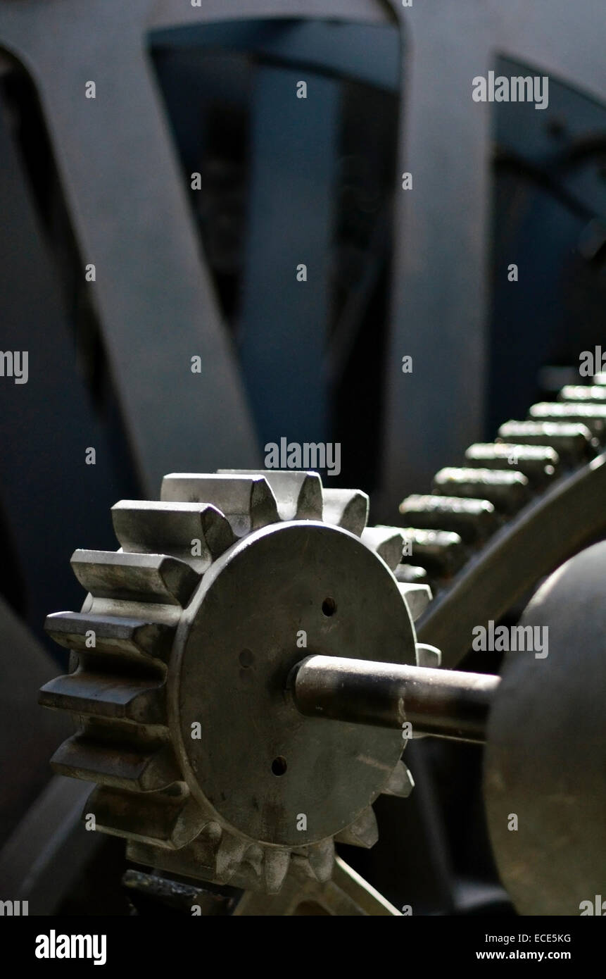 drive gears - Stock Image