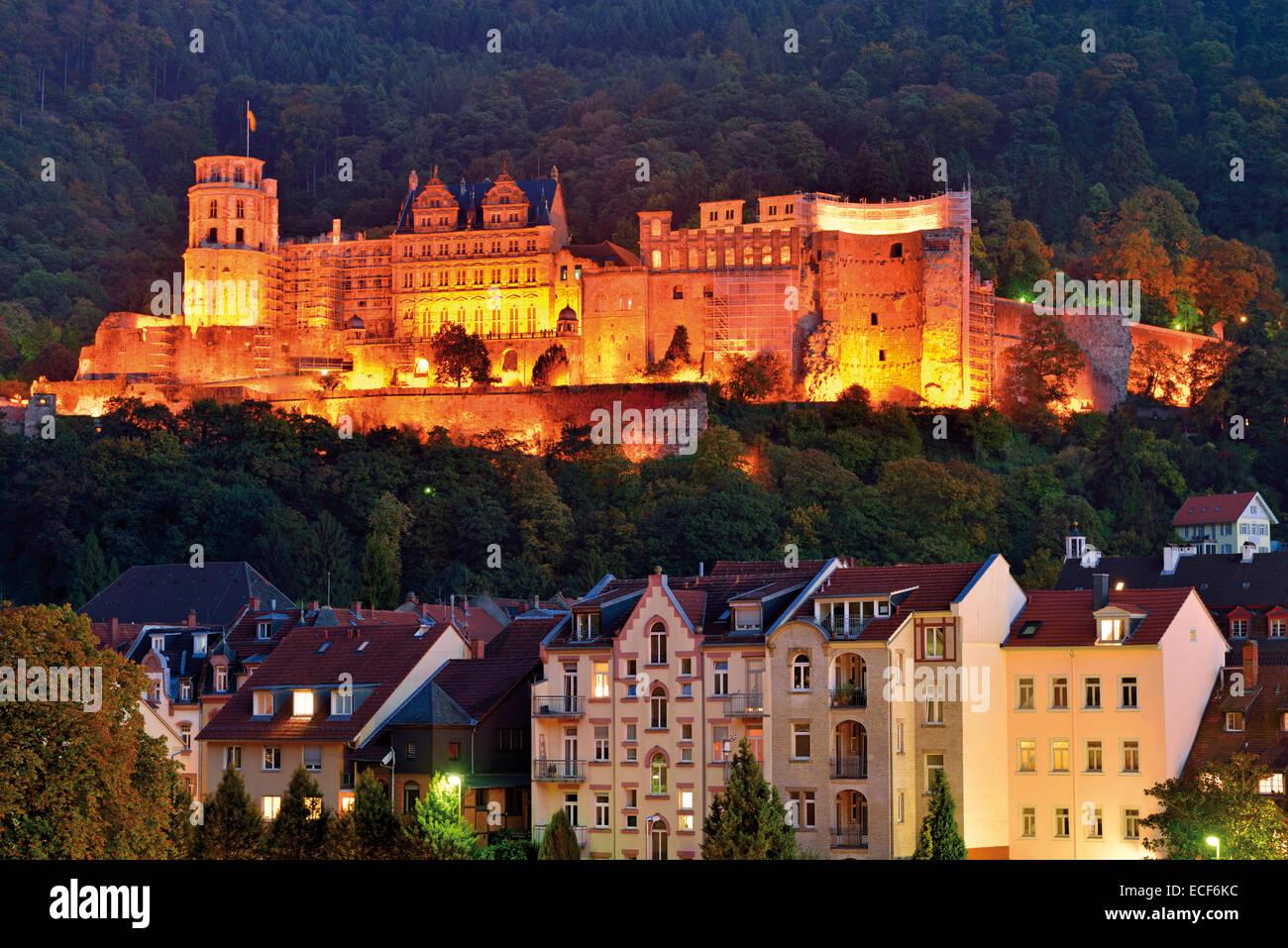 Heidelberg Castle Night