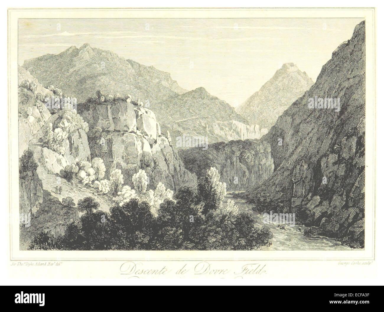 LAMOTTE(1813) p105 DOVRE FJELD - Stock Image