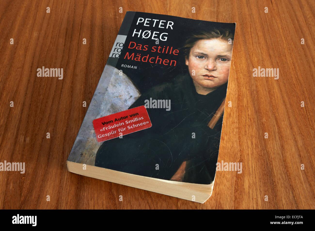 Peter Hoeg Das Stille Madchen - Stock Image