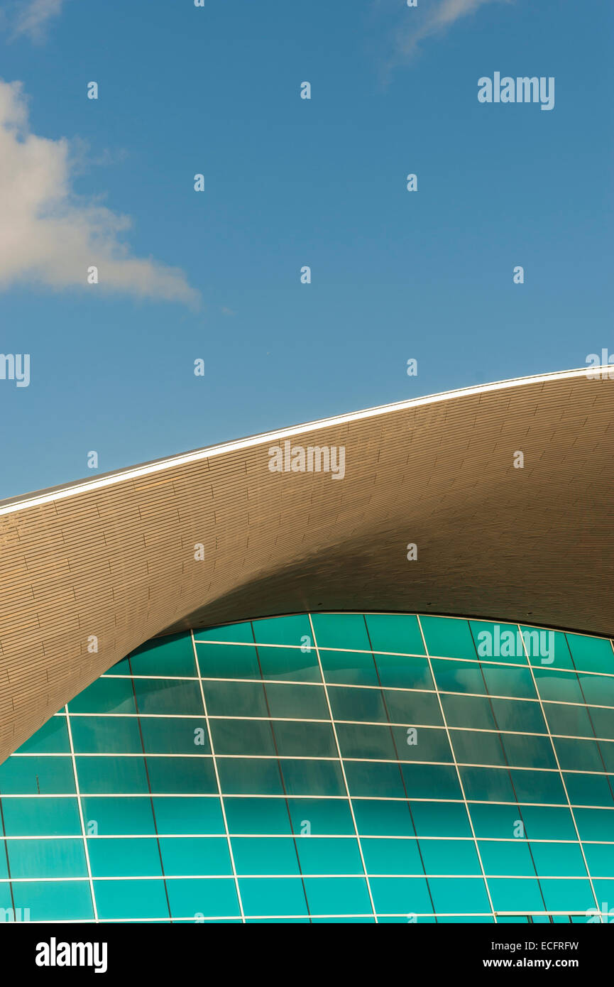 Olympic pool detail stock photos olympic pool detail - Queen elizabeth olympic park swimming pool ...