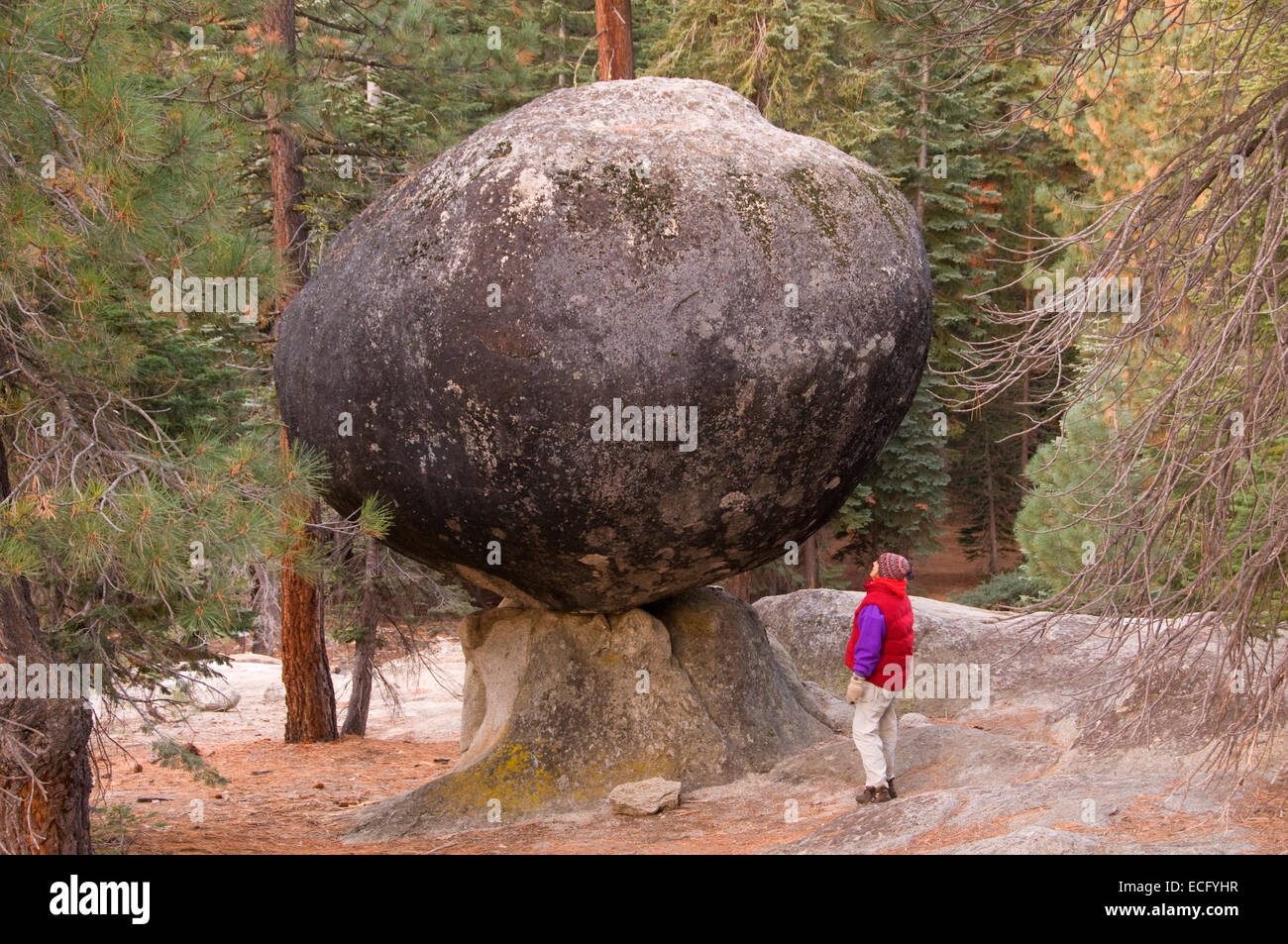 Globe Rock, Sierra Vista National Scenic Byway, Sierra National Forest, CaliforniaStock Photo